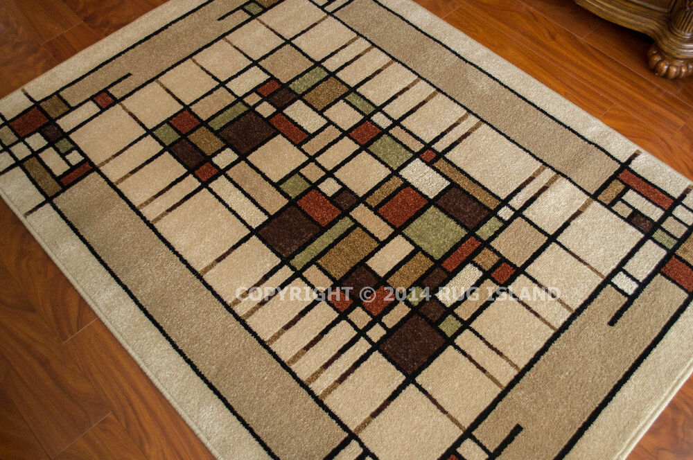 Arts Amp Crafts Mission Style Indoor Outdoor Area Rug Free