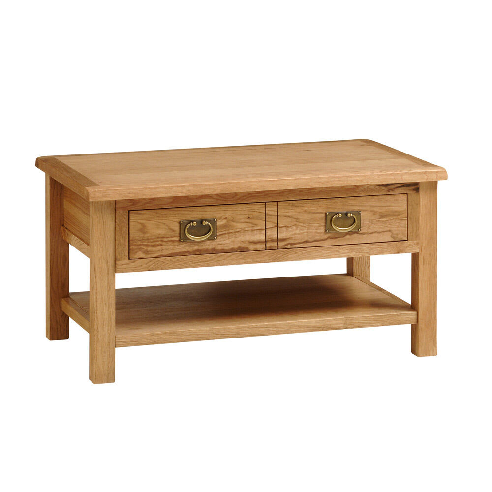 Salisbury light oak coffee table ebay Light oak coffee tables