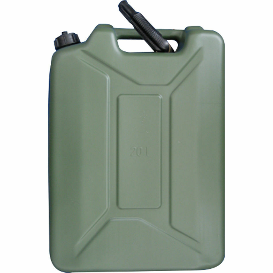 20 litre plastic fuel jerrycan petrol water jerry can ebay. Black Bedroom Furniture Sets. Home Design Ideas