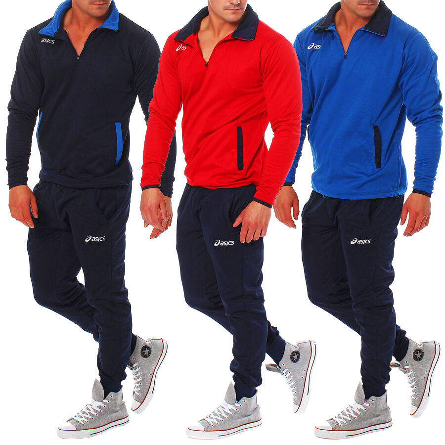 asics suit brasil herren trainingsanzug jogginganzug sport freizeit anzug ebay. Black Bedroom Furniture Sets. Home Design Ideas