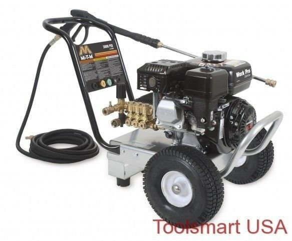 3000 psi pressure washer mi t m work pro series pressure washer 3000psi 2 3 gpm 10169