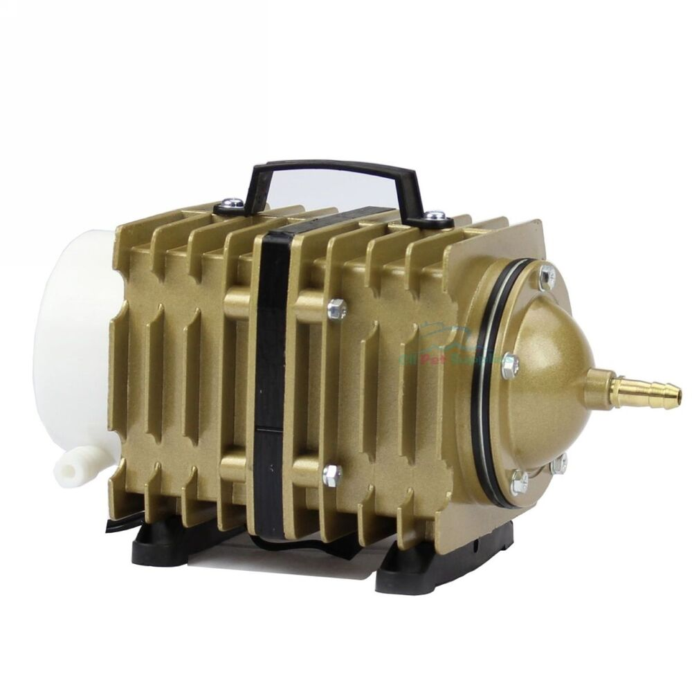 O2 commercial air pump 1746 gph aquarium hydroponics for Hydroponic air pump