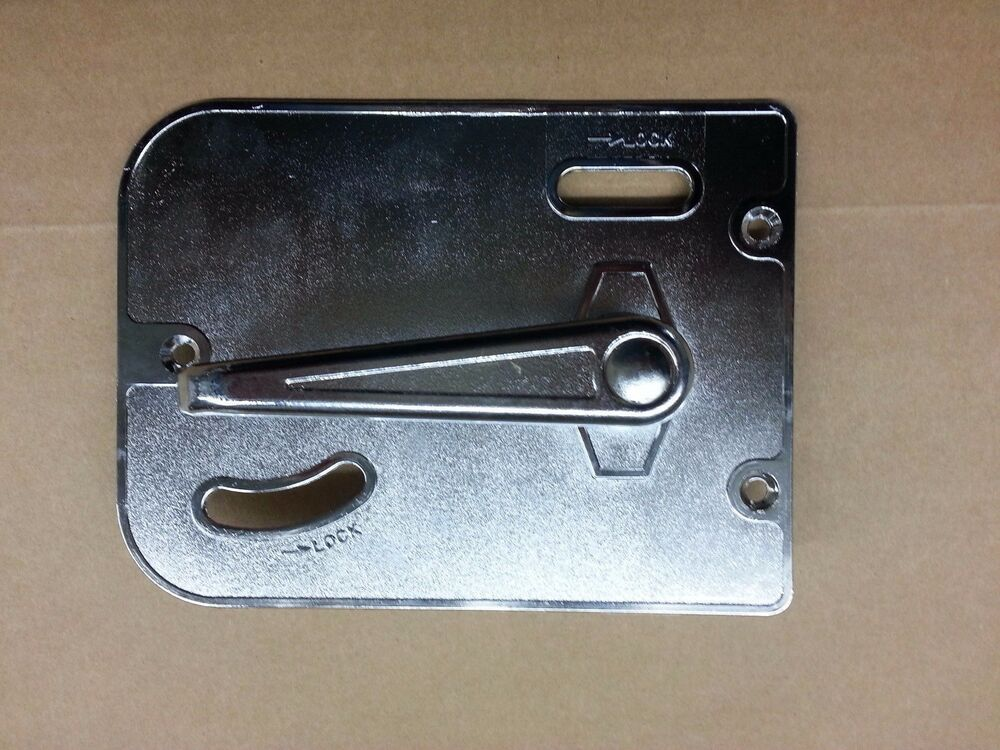 Innovative RVCamper Entry Door Handle Keyed Lock Set  EBay