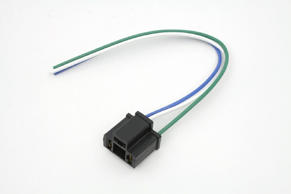 Motorcycle Headlight Wiring Connector Block With 3 Wires