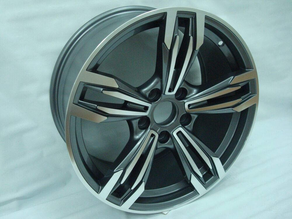 "18"" NEW BMW M6 STYLE WHEELS RIM FIT 1 SERIES 3 SERIES 4 ..."