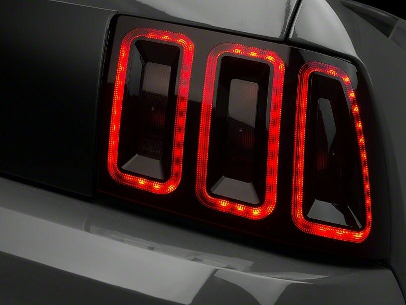 Mustang Gt Raxiom Icon Led Tail Light 99 04 All Excludes