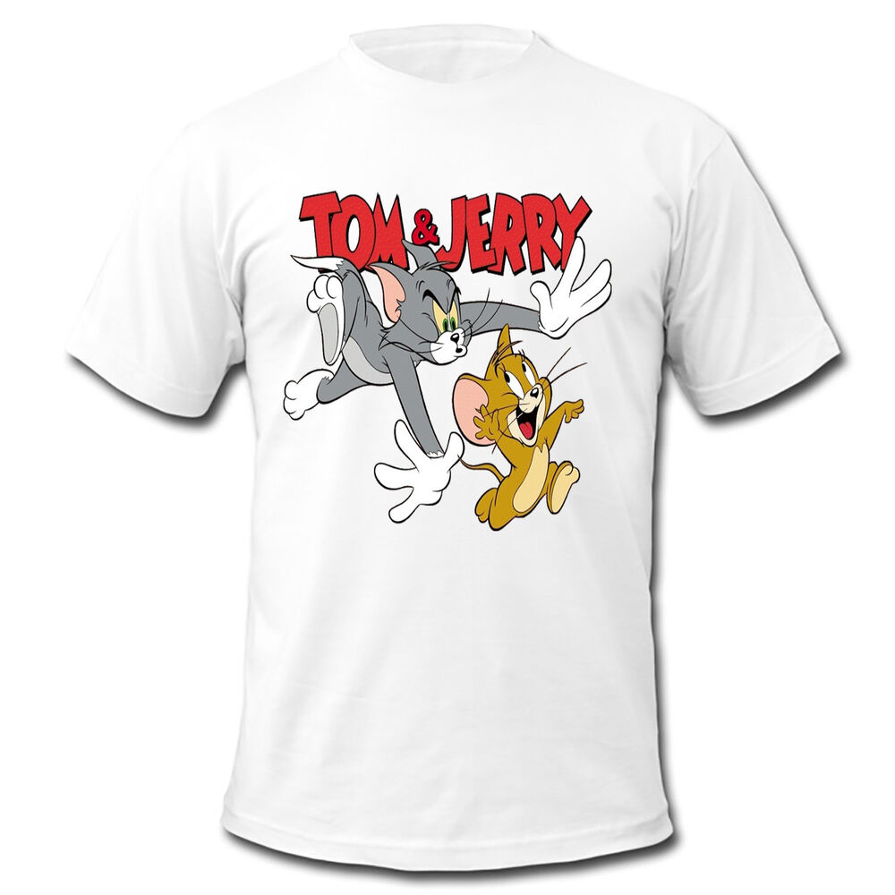 Make a bold statement with our Kids Tom And Jerry T-Shirts, or choose from our wide variety of expressive graphic tees for any season, interest or occasion. Whether you want a sarcastic t-shirt or a geeky t-shirt to embrace your inner nerd, CafePress has the tee you're looking for. If you'd rather.