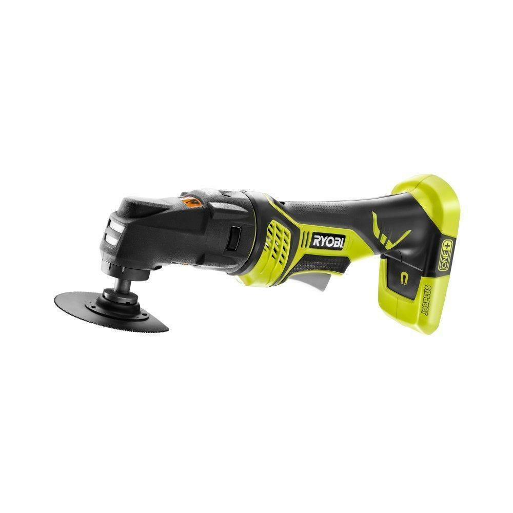 ryobi cutter sander multi tool base with multi tool attachment 18 volt ebay. Black Bedroom Furniture Sets. Home Design Ideas