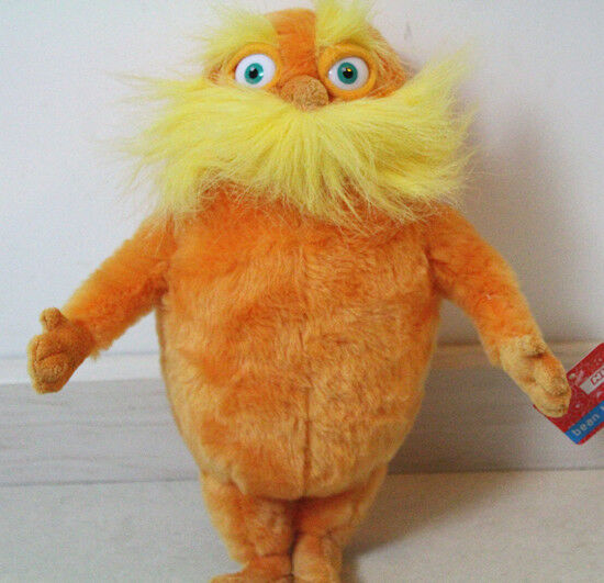 """Dr Seuss The Lorax Full Movie In English: Hot Sale The Lorax Plush Toy, 9"""" Dr Seuss Baby Gift With"""