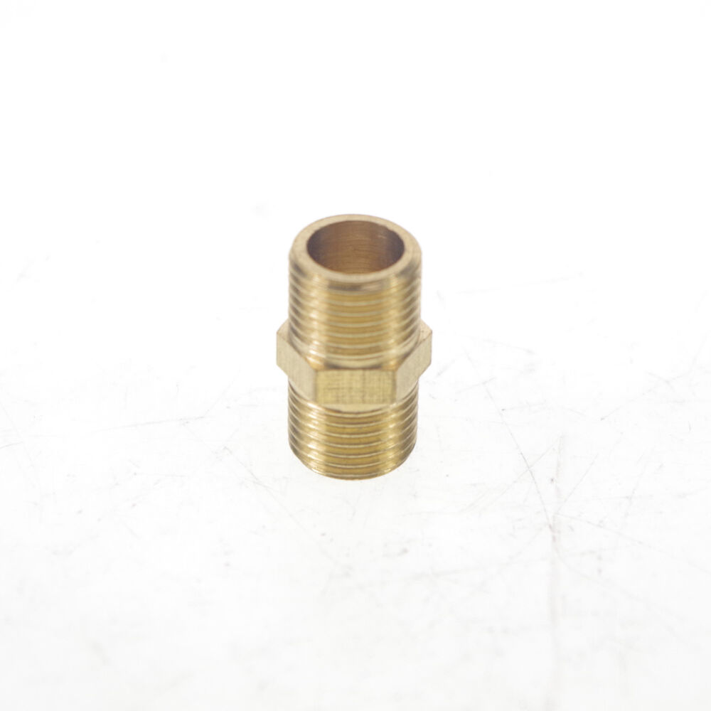 Lot quot bspp connection male pipe brass adapter coupler