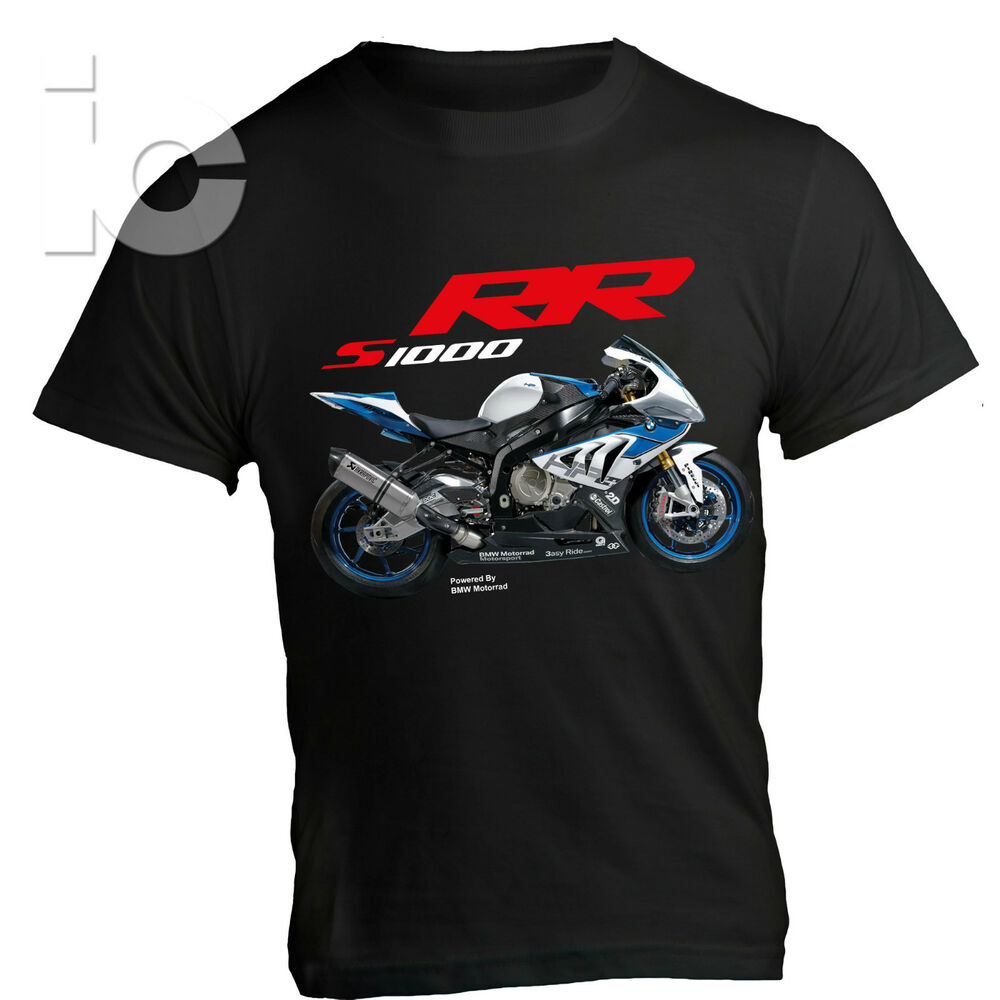 t shirt bmw s 1000 rr motorrad racing pista sbk hp4 ebay. Black Bedroom Furniture Sets. Home Design Ideas