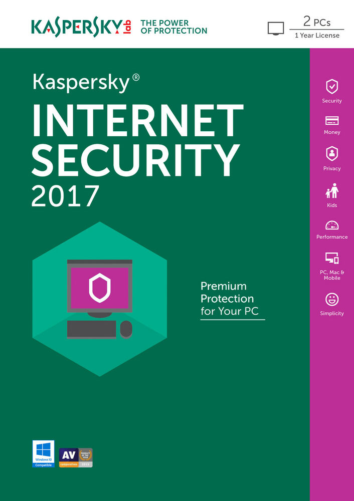 Kaspersky internet security 2017 v13