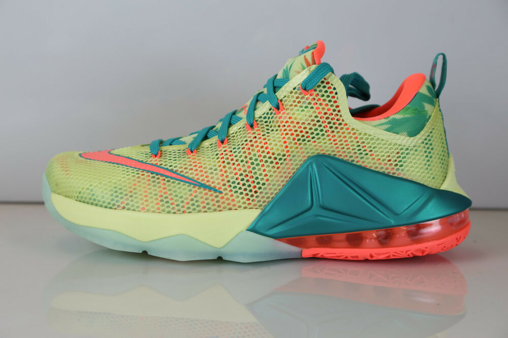 low priced 2c36f 49f01 Details about Nike Lebron XII Low Lebronold Palmer 776652-383 9.5 11 12 1 8