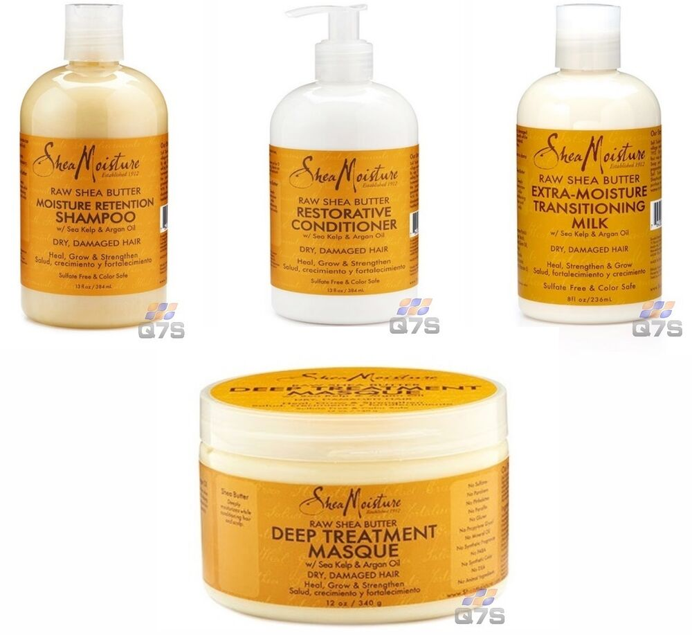 Shea Moisture Raw Shea Butter With Argan Oil Hair Repair