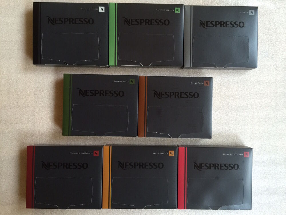 50 st ck original nespresso pro kapseln buisness pads professional 7 32 100gr ebay. Black Bedroom Furniture Sets. Home Design Ideas