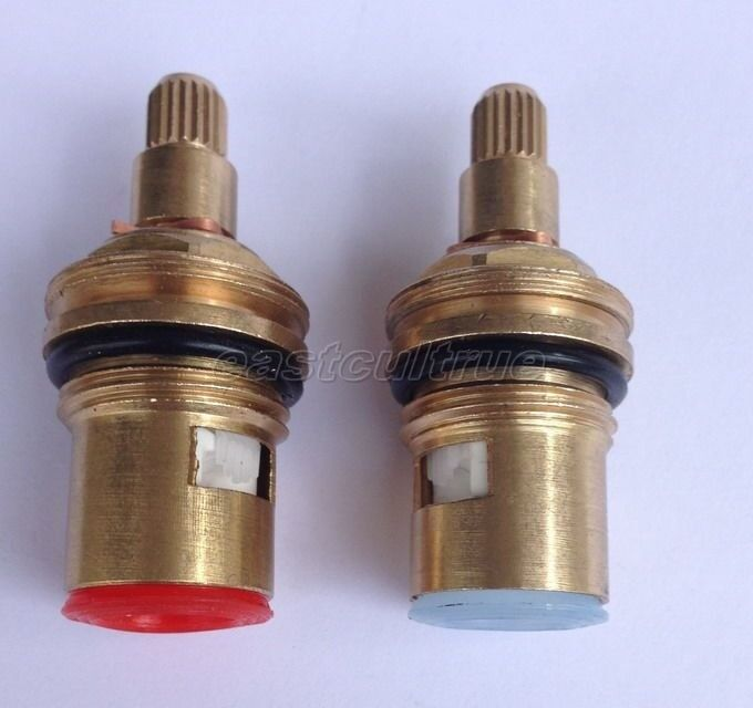 Pcs brass replacement ceramic disc tap faucet cartridges