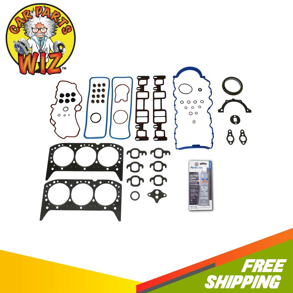 1996 Gmc Safari Cargo Head Gasket: Full Gasket Set Fits 96-06 GMC Chevrolet Oldsmobile Isuzu
