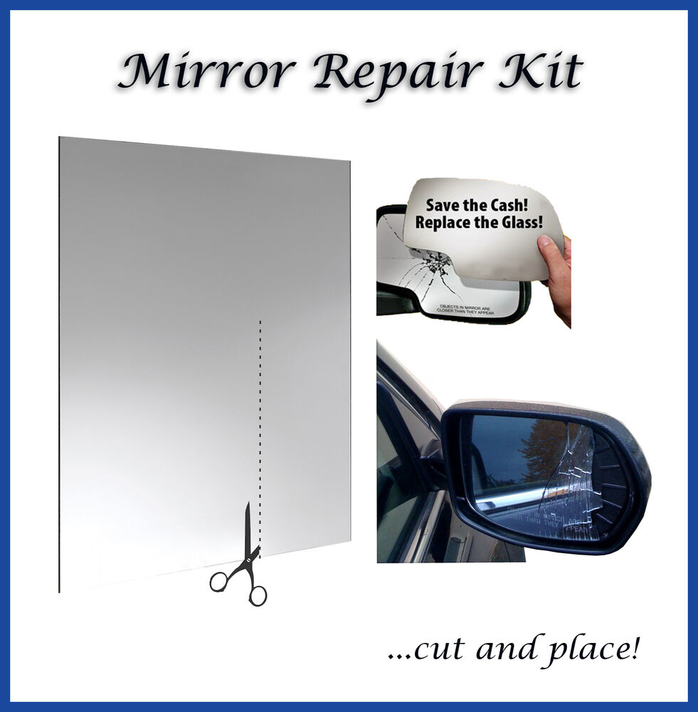 fix 7 x10 universal car wing side mirror repair kit