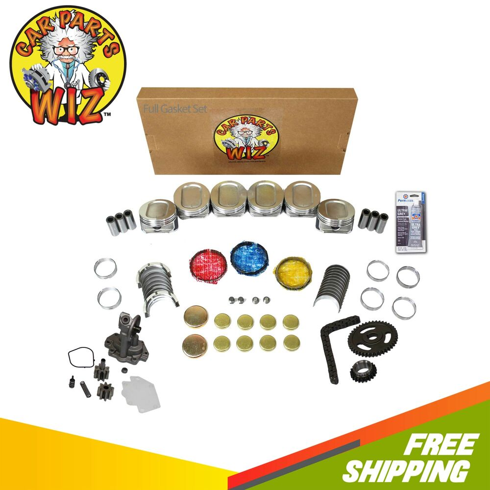 Ford F 150 2000 Remanufactured Complete: Engine Rebuild Kit Fits 98-00 Ford E150 E250 F150 4.2L V6