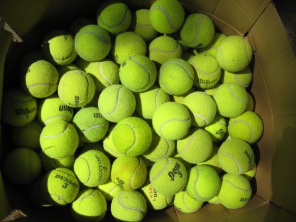 how to cut tennis balls for chairs