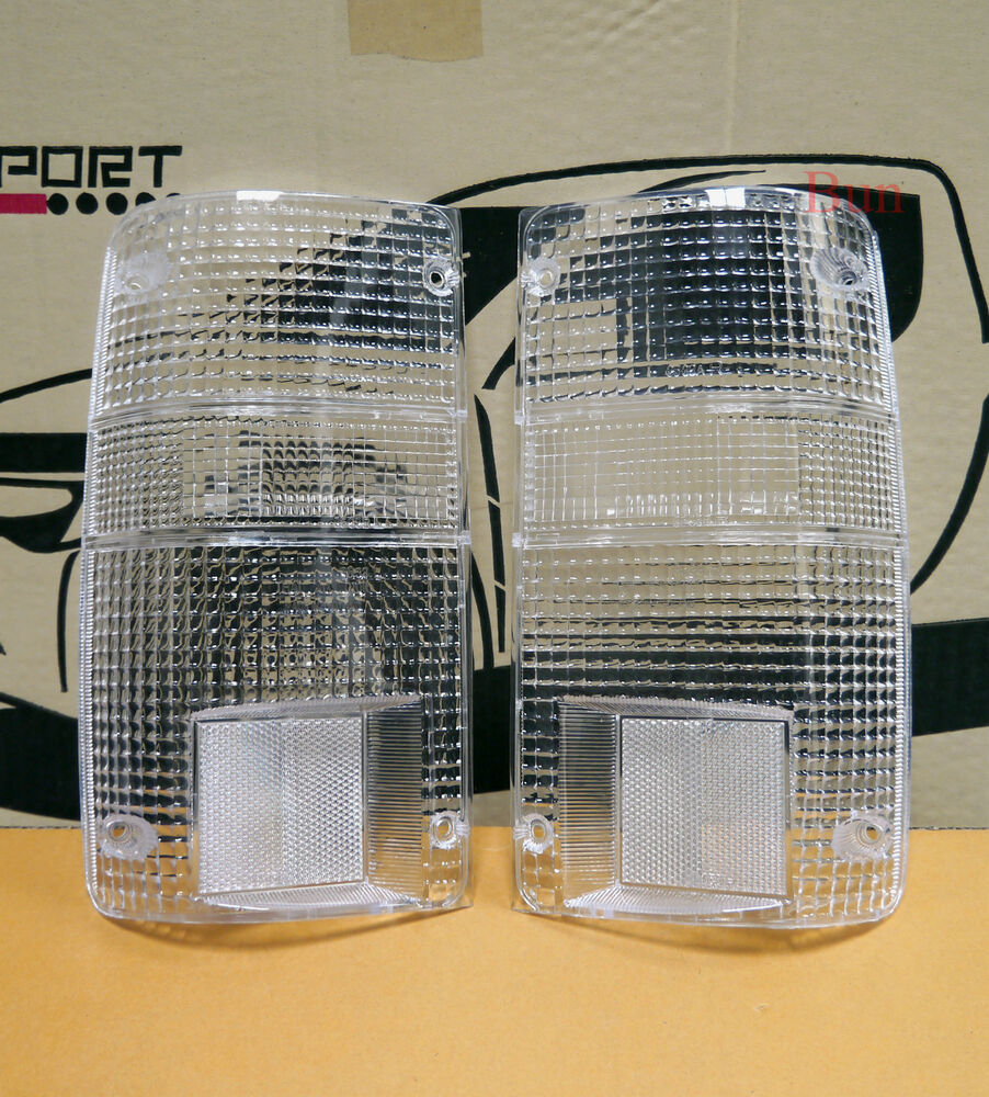 Toyota Truck Aftermarket Parts: TOYOTA HILUX PICK UP TRUCK 89-95 CLEAR TAIL LIGHTS LAMPS