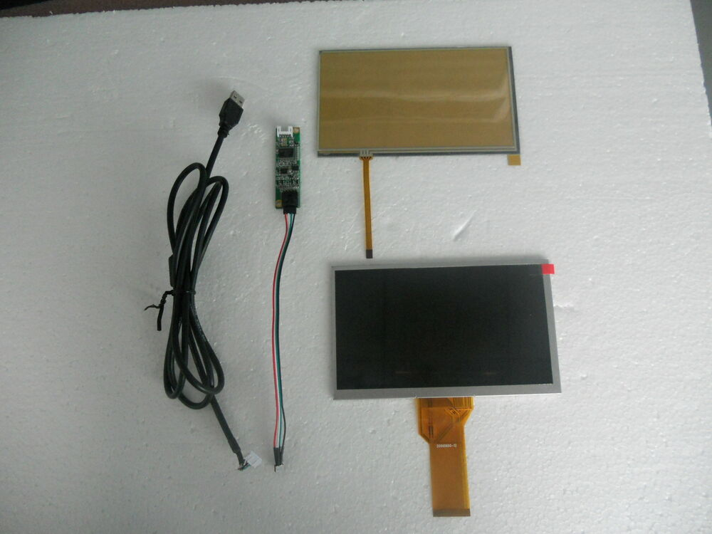 """7"""" Inch TFT resistive Touch Screen with LCD 50pin ..."""