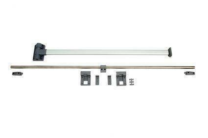 Campervan Sliding Table Rail Set With Folding Table Leg