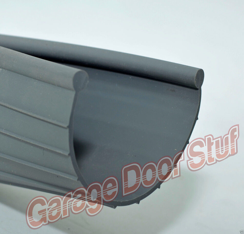 Garage Door Weather Seal Bottom Seal Bead Type Grey