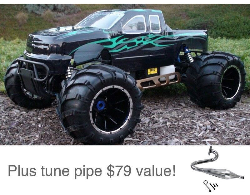 Redcat Racing Rampage MT 1/5 Scale Gas Powered 4x4 RC