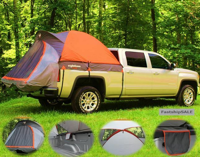 Full Size Long Bed Truck Tent