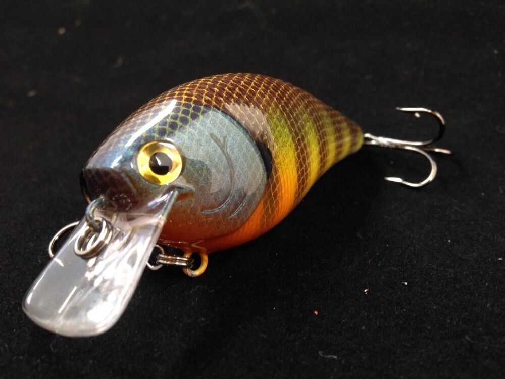 Ghb custom painted sunny bass walleye pike lure for Best fishing lures for walleye