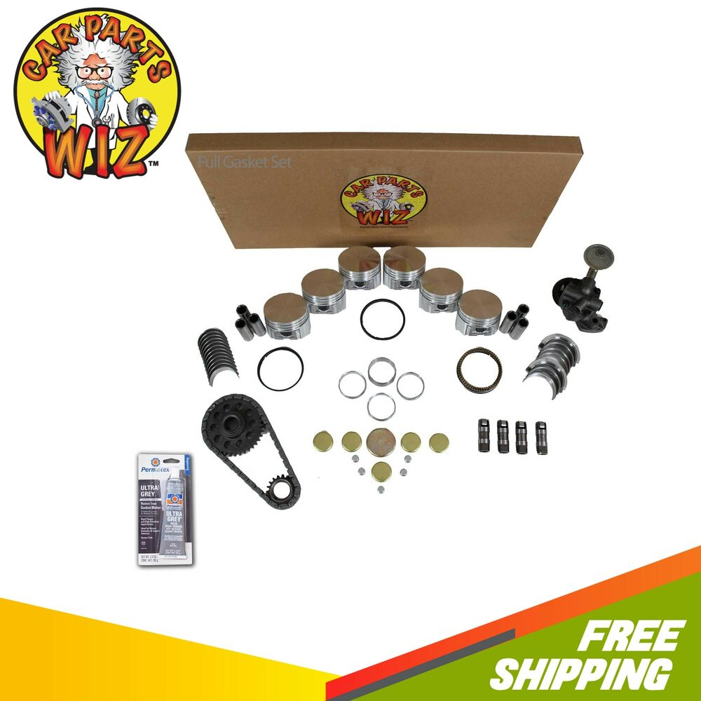 Ford 2 3 Engine Rebuild: Engine Rebuild Kit Fits 92-95 Ford Ranger Aerostar Mazda