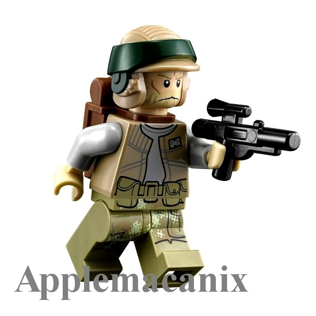 new lego star wars 75094 endor rebel trooper minifigure