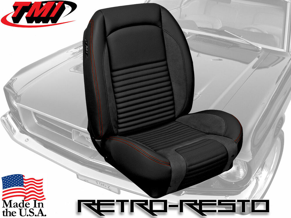 1967 Ford Mustang Sport R Seat Covers Kit By Tmi Products