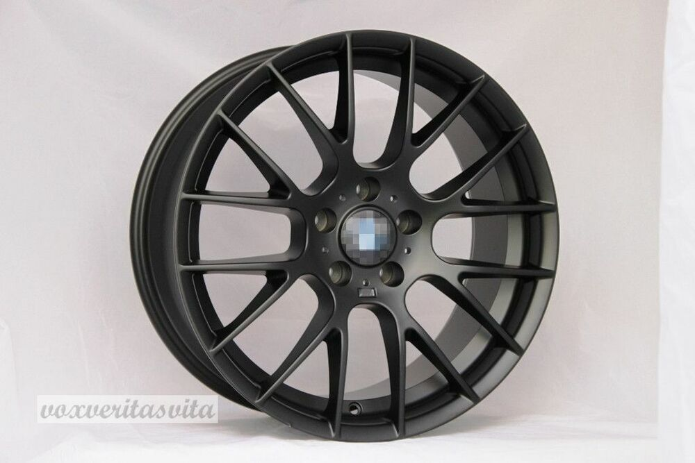 18 Quot Black Wheels Rims Zcp Csl Style M3 Fits Bmw 323 325