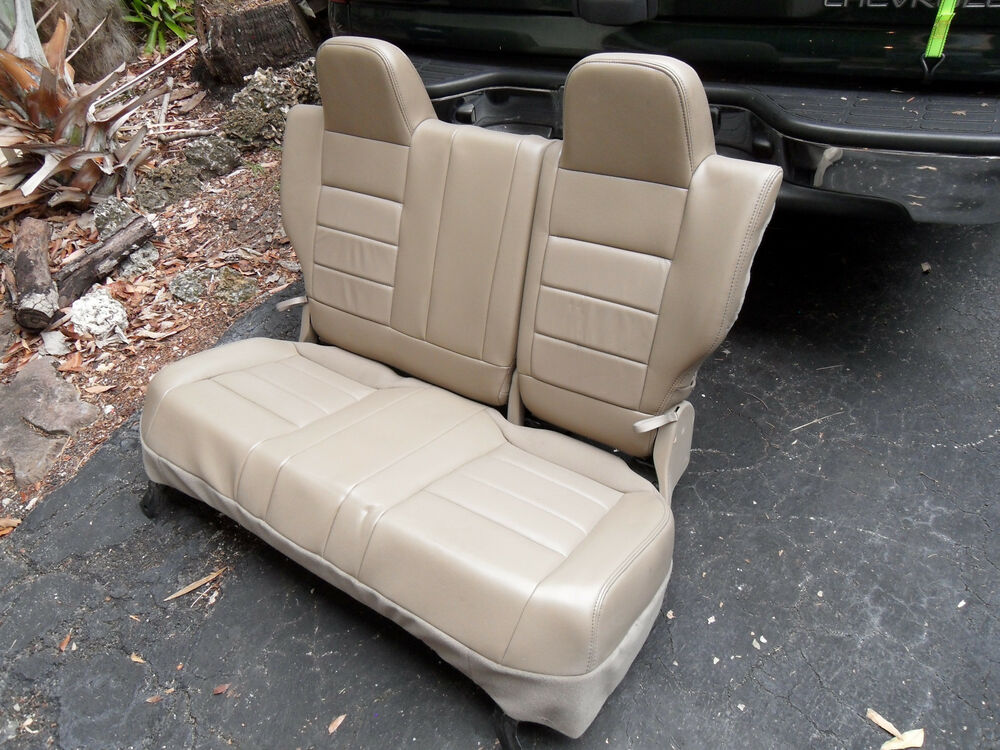 Rear Bench Seat ~ Jeep compass rear bench nd row leather seat seats