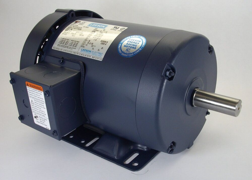 2 hp 1725 rpm 145t frame 208 230 460 volts tefc leeson for 2 rpm electric motor