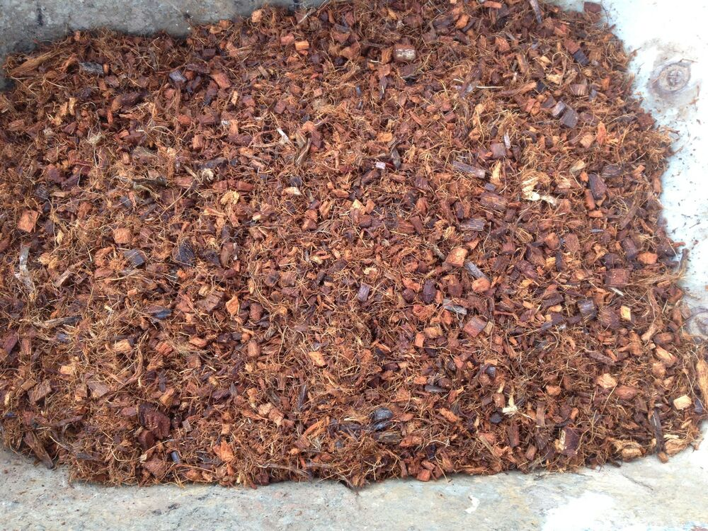 275lt coco coir chips better than bark chippings for for Soil improver