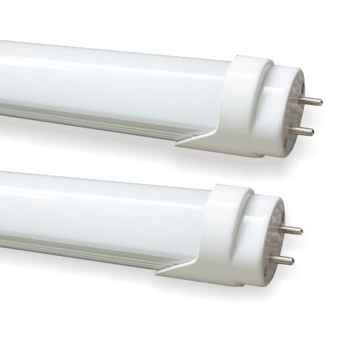Led tube lights day warm white fluorescent replacements for Tube led garage