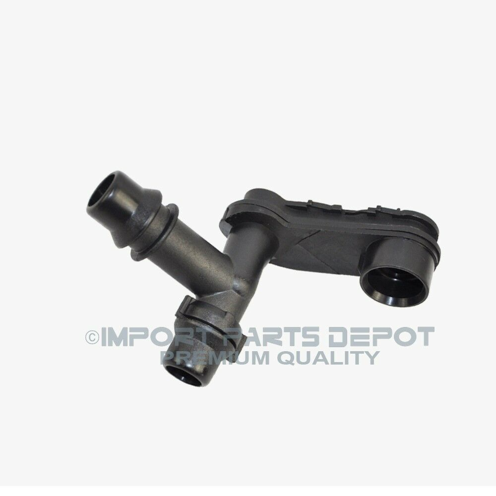 Bmw coolant expansion tank hose connector to mounting
