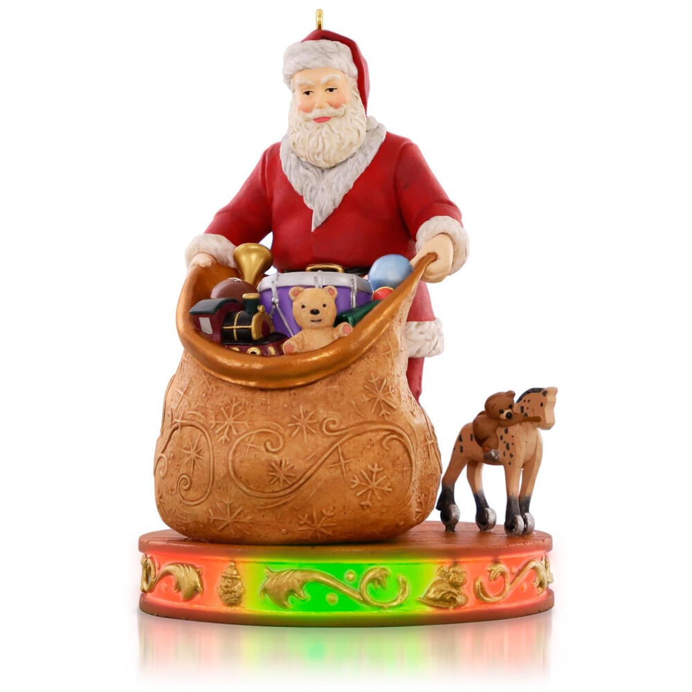 Toys For Ornaments : Hallmark packing up the toys magic cord series