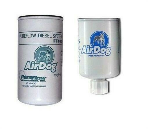 airdog replacement 2 micron fuel filter water separator ff100 2 ws100 ff100 ebay. Black Bedroom Furniture Sets. Home Design Ideas