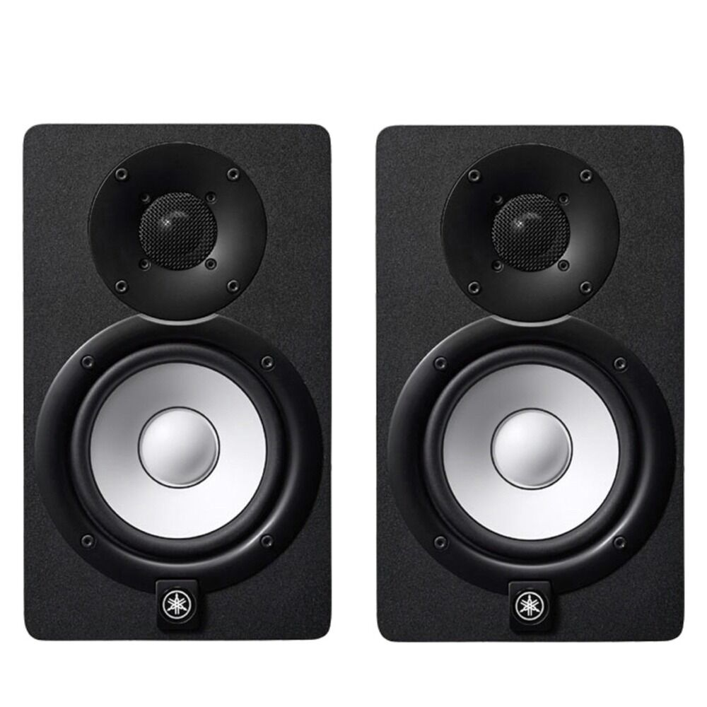 yamaha hs5 5 nearfield bi amplified active studio monitor speaker black pair ebay. Black Bedroom Furniture Sets. Home Design Ideas