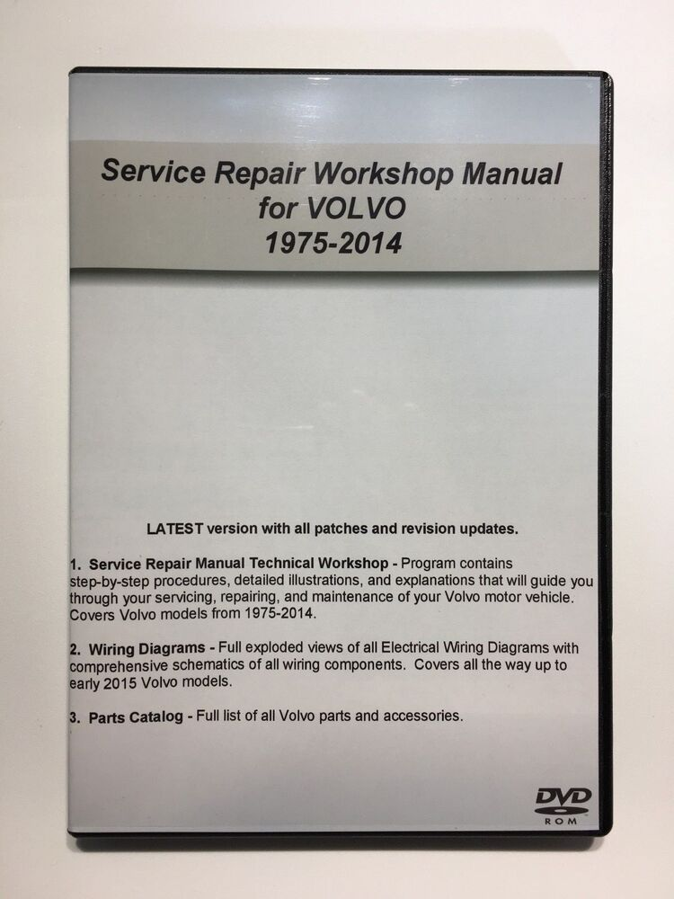 For Volvo 2014 VIDA Vadis SERVICE REPAIR MANUAL + PARTS CATALOG + ...