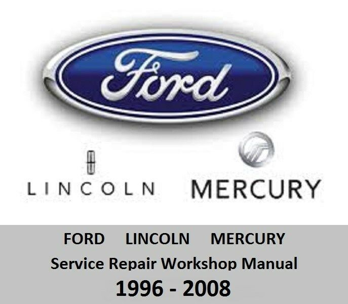 ford lincoln mercury service repair workshop manual. Black Bedroom Furniture Sets. Home Design Ideas