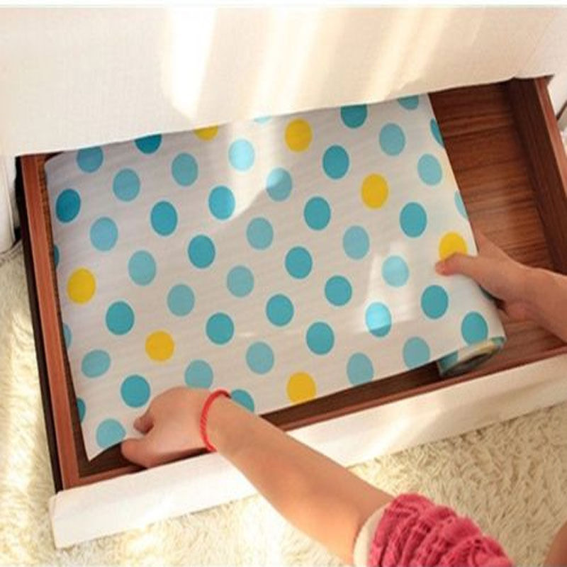 Kitchen Cabinet Paper: Welcome Polka Dots Shelf Contact Paper Cabinet Drawer