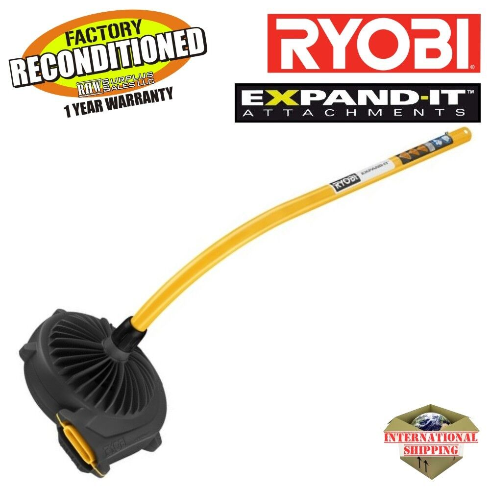 ryobi ry15519 expand it blower attachment zr15519 reconditioned ebay. Black Bedroom Furniture Sets. Home Design Ideas
