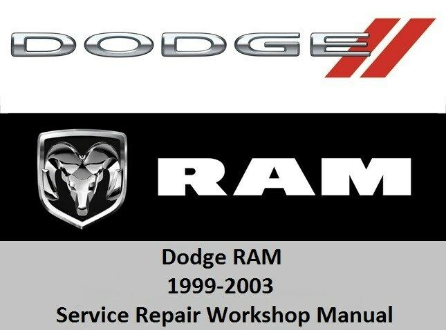 dodge ram 1999 2003 service repair workshop manual 1500 dodge ram service manual download dodge ram service manual pdf