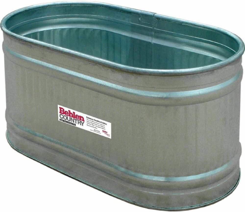 Oval Galvanized Tub On Shoppinder