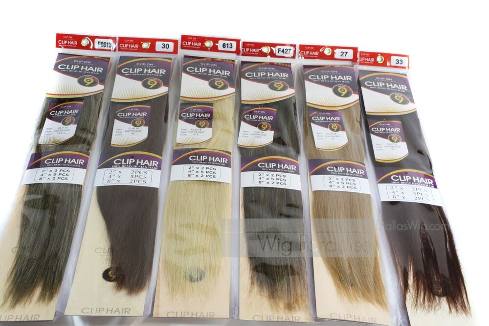 Jazz Wave 100 Remy Human Hair 18 Clip Inon Extension 9 Pieces Ebay